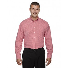 DEVON & JONES® Crown Collection™ Gingham Check Dress Shirt