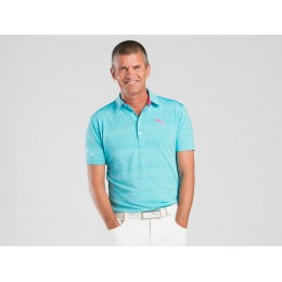 PUMA GOLF® Barcode Polo