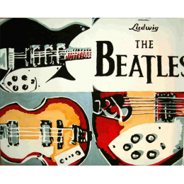 Beatles Instruments Drawings