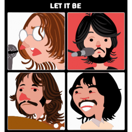Let It Be Cartoon