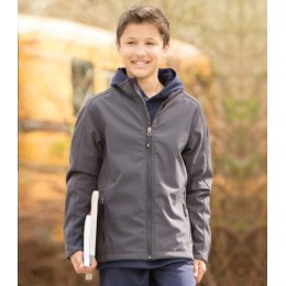 COAL HARBOUR® Soft Shell Jacket - Youth Unisex