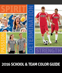 SANMAR: School & Team Color Guide 2016